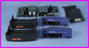 ** 38 Parts and Pieces of LinkSys / Cisco BEFCMUH4 4-Port USB Modem / Routers **