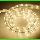 18 FOOT CLEAR Brite Star STRING of 170 ROPE LIGHTS Indoor / Outdoor Tube