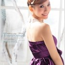 [W0032]Elegant Purple Satin Prom Dress  裹胸小礼服--紫色