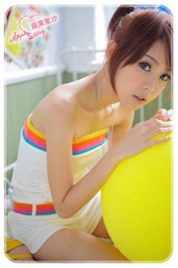 [W0033]Korean Style 1-piece Tube Top Bottom - White �������身裤���