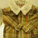 Baby Gap Plaid Coat Size 12/18 Months (HC19)