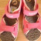 Timberland Size 3 Girls Pink Adjustable Strap Sandal