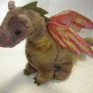 Ty Beanie Baby Collection Scorch Dragon Retired (HC13)