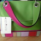 Tommy Hilfiger Green Swingers NS Flap Purse with Attached Tag (HC23)