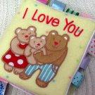 Taggies I Love You Soft Baby Rag Book (HC20)