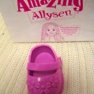 Playmates Toys Amaing Allysen Replacement Pink Left Shoe