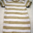 Carter's One Piece Preemie Boys Snap Stripped Short Sleeve Romper (HC19)