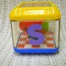 Fisher Price Replacement Alphabet Peek-a-Block Letter S