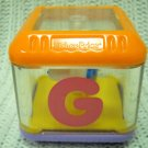 Fisher Price Replacement Alphabet Peek-a-Block Letter G