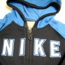 Nike Boys Zipper Sweatshirt with Hood 6/9M (HC19)