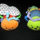 Infantino Bee and Caterpillar Soft Plush Rattle with Crinkle and Ribbon (HC20)