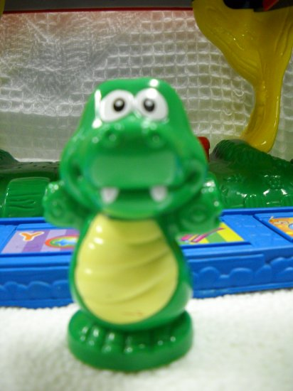 V-Tech Smartville Alphabet Train Station Replacement Animal Crocodile