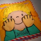 Lamaze Infant Development Peek a Boo I Love You Soft Rag Book (HC12)