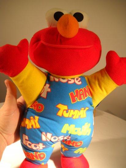 Hands Nose Mouth Tyco Elmo Plush (HC12)