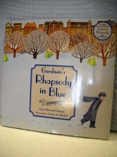 Gershwin's Rhapsody in Blue Hardcover with Music CD (TBK)