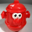 Playskool Weebles Red Fire Hydrant Replacement Figure by Hasbro 2003