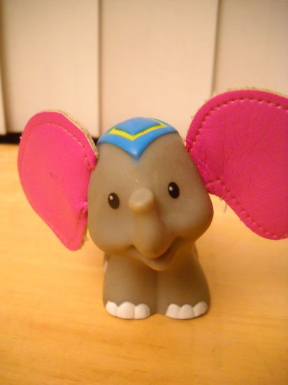 Fisher Price Mattel Little People Replacement Elephant 2005