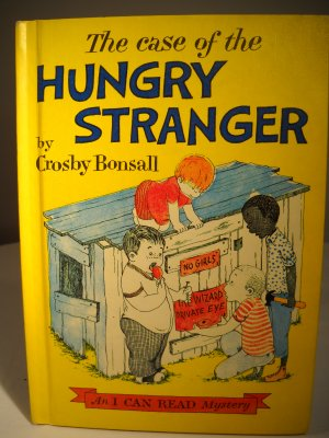 The Case of the Hungry Stranger Hardcover 1964 (HC03)