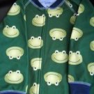 Carters Frog Pajama's One Piece Footed Size 2 (HC25)