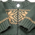 The Children's Place Holiday Zip Up Sweater Size 0-3 Months (HC25)