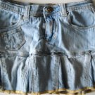 The Children's Palce Pleated Denim Skirt Adjustable Waist Size 5 (HC26)