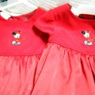 Disney Store Minnie Mouse Red Dress for Twins Size 18 Months (HC26)