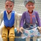 Fisher Price Loving Family Dream Dollhouse Grandparents Set 1996(HC10)