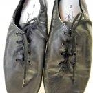 Jazz Leather Tie Shoes Size 3 by Spotlights (HC27)