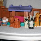 Little People Noah' Ark with Animals by Fisher Price Mattel 2007 (HB35)