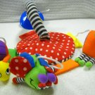 Infantino Suction Cup Mobile For Car with Three Colorful Friendly Bugs