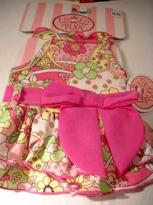 Lu Lu Pink Dog Swim Suit XSmall 2009 (HC08)