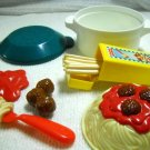 Vintage Fisher Price Speedy Spagetti Play Food Set 1998 (HC09)