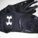 Under Armour Football Gloves Black Youth Medium (HC27)