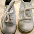 Leather Walker Toddler Shoe by Josmo Size 2 White (HC27)
