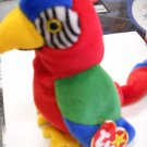 Ty Beanie Baby Collection Jabber the Parrot 1998 (HC15)