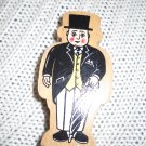 Thomas and Friends Wooden Train SIR TOPHAM HAT FIGURE by Gullane 2003 (HC10)