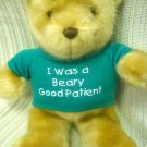 Hospital Patient Teddy Bear Plush Brown (HC13)