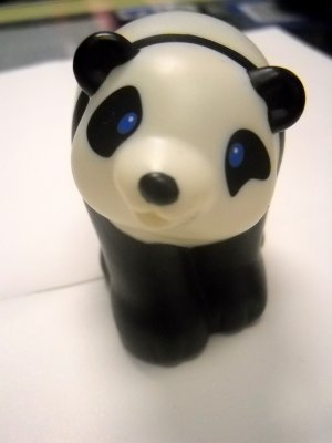 Fisher Price Mattel Little People Replacement Animal PANDA BEAR (HC45)
