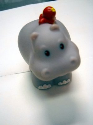 Fisher Price Mattel Little People Replacement Animal HIPPO (HC45)