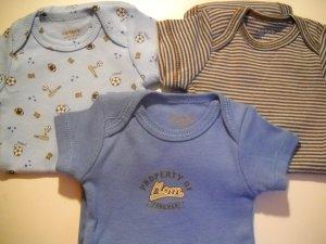 Carters Newborn BOY Onesie�s Set of 3 (HC19)