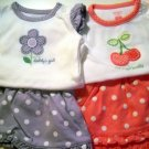 Carters Twin Girl Clothing Size 0/3 Months (HC26)