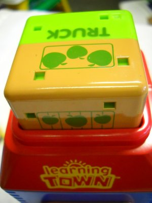 Leap Frog Baby Learning Town Barn Buddies Replacement Green Truck (HC45)