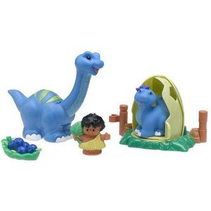 Little People Lil' Dino Brontosaurus by Fisher Price (HC21)
