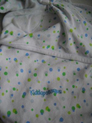 Kiddopotamus Swaddle Me White Infant Wrap Blanket 100% Cotton (HC24)