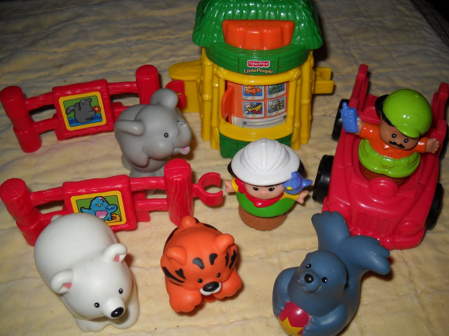 Fisher Price Mattel Little People Baby Zoo Animals 10