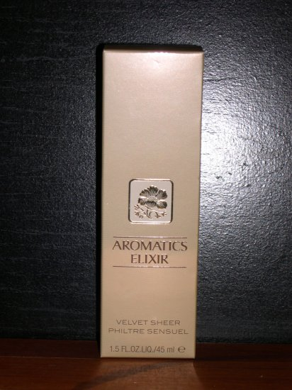 Clinique Aromatics Elixir Velvet Sheer Perfume Liquid Gel 1.5 FL. OZ. New in  Box
