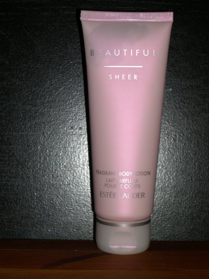 Estee Lauder Beautiful Sheer Fragrant Body Lotion 3.4 FL. OZ. Unboxed