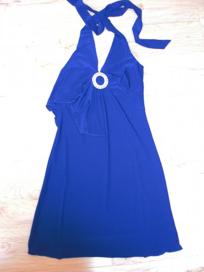 Stunning Blue Cocktail Party Dress (B2-0006)