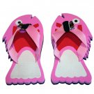 Pink Fish Kid Flops - XSmall