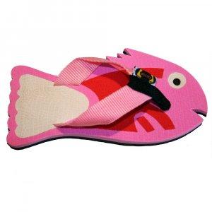 Pink Fish Fiesta Flops - Medium